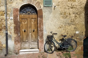 Door and Bike