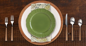Another casual place setting
