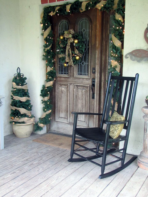 Twelve days of christmas decorating day three the diva for 12 days of christmas door decoration