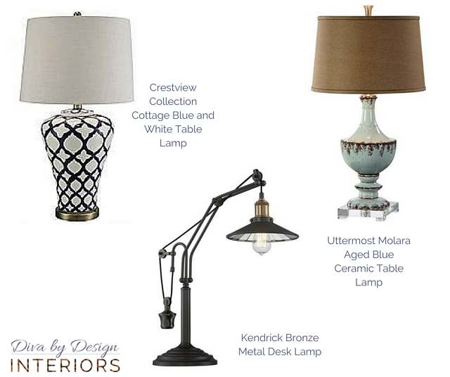 All table lamps from lampsplus.com