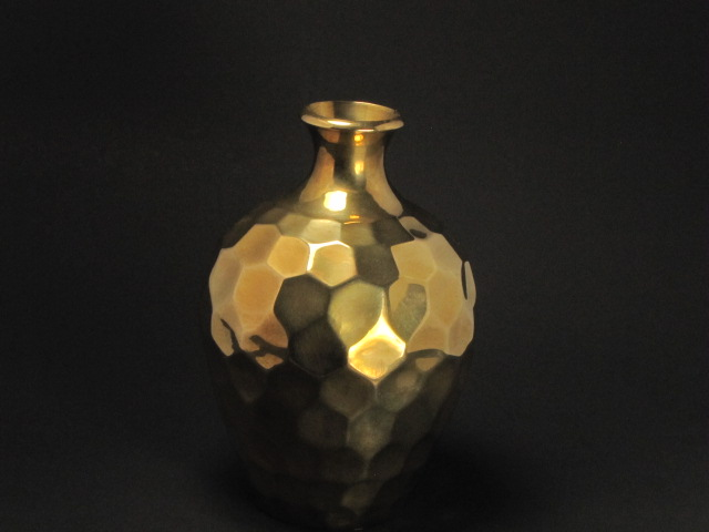 Aged brass is popular right now for interior decorating