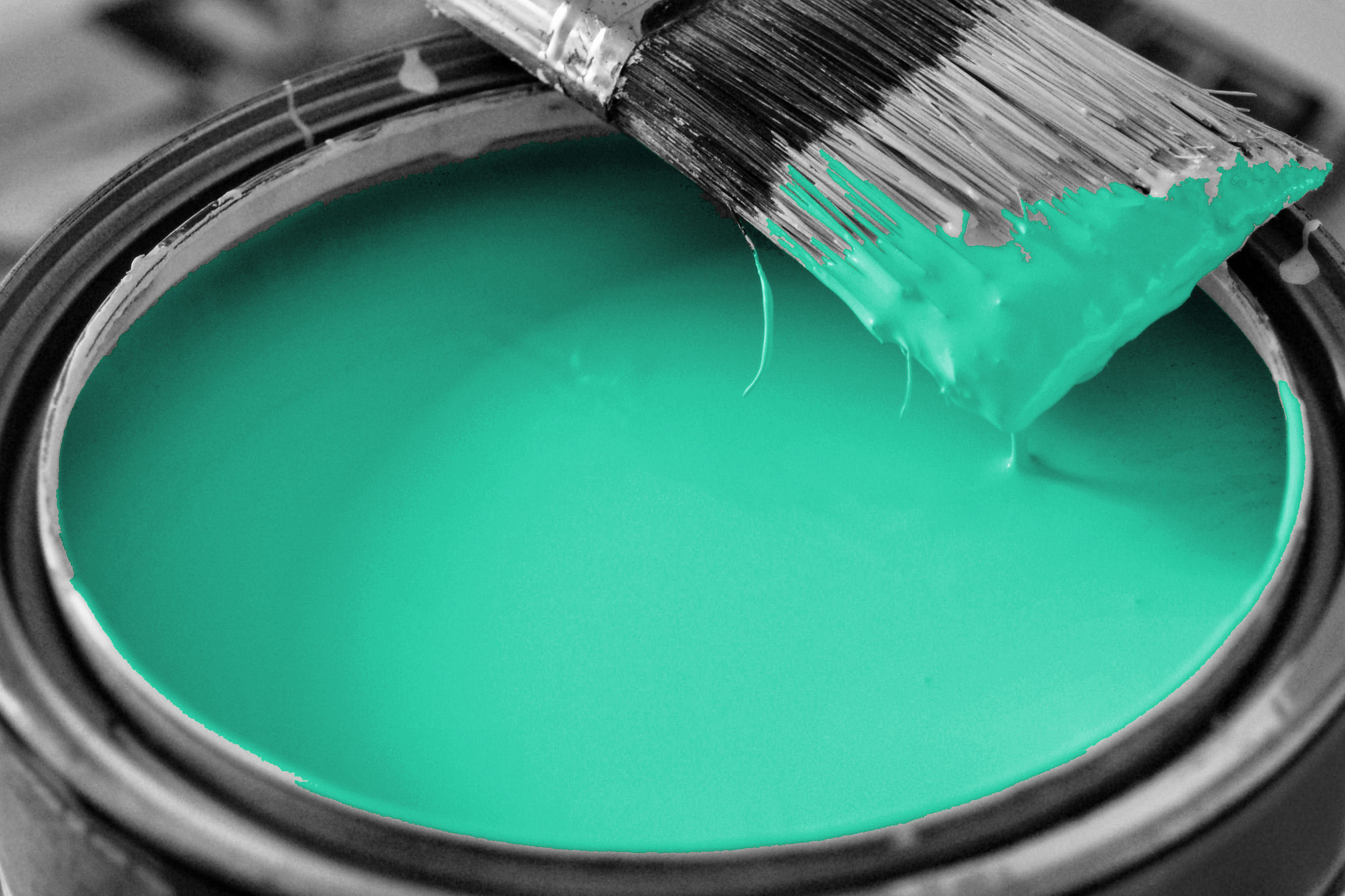 Do you make these decorating mistakes the diva 39 s home for Turquoise colour images